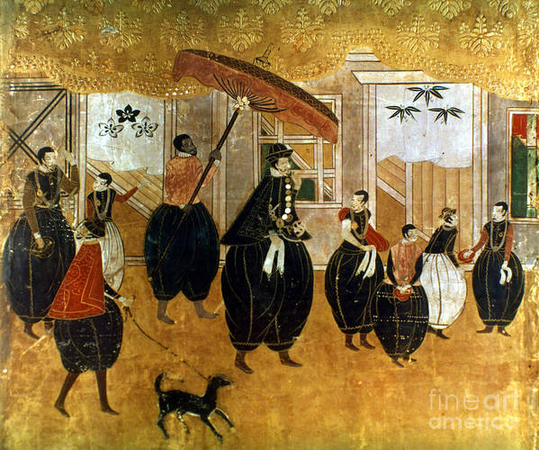 1549 Poster featuring the painting Japan: St. Francis Xavier by Granger