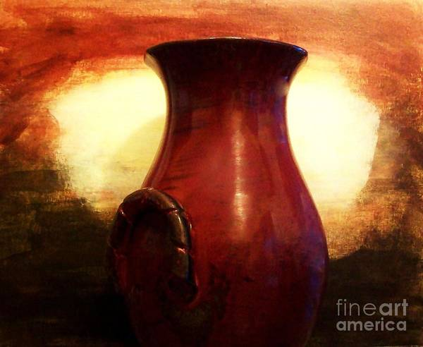 Photo Poster featuring the photograph Pottery From Italy by Marsha Heiken