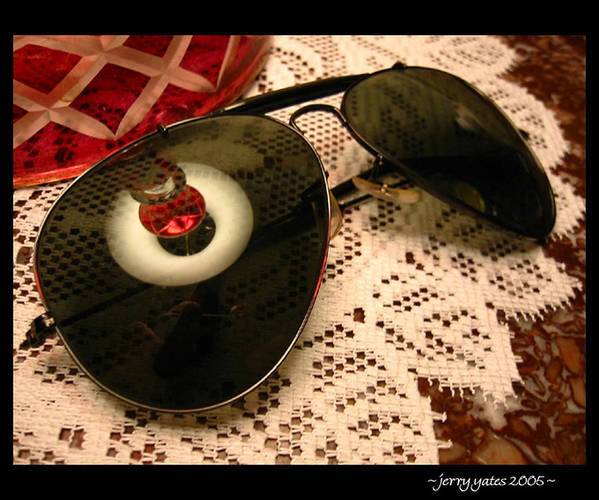 Sunglasses Poster featuring the photograph Shades by Gerard Yates
