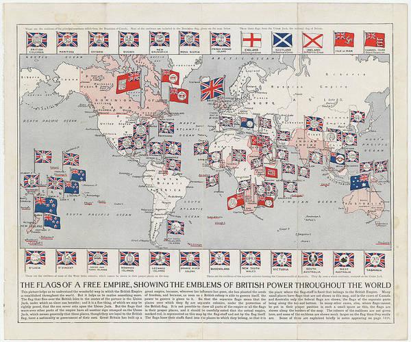 Vintage british empire world map 1910 poster by cartographyassociates british empire poster featuring the drawing vintage british empire world map 1910 by cartographyassociates gumiabroncs Choice Image
