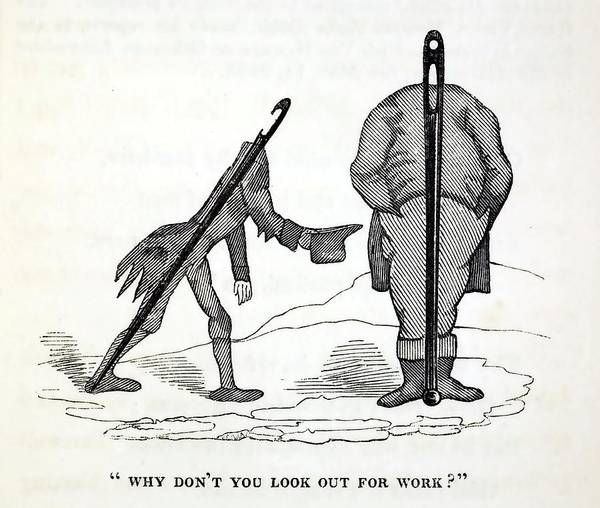 1836 Satire Of Social Welfare Of Disabled Poster By Paul D Stewart