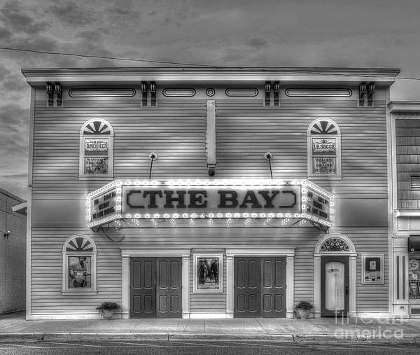 Suttons Poster featuring the photograph Bay Theatre In Sutton's Bay by Twenty Two North Photography