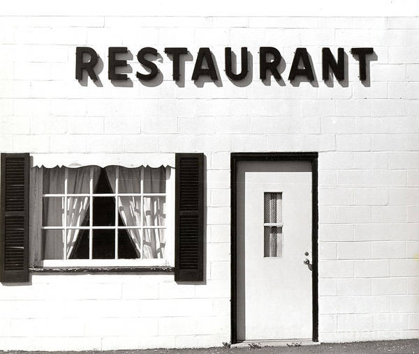 Restaurant Poster featuring the photograph Country Restaurant by Thomas Marchessault