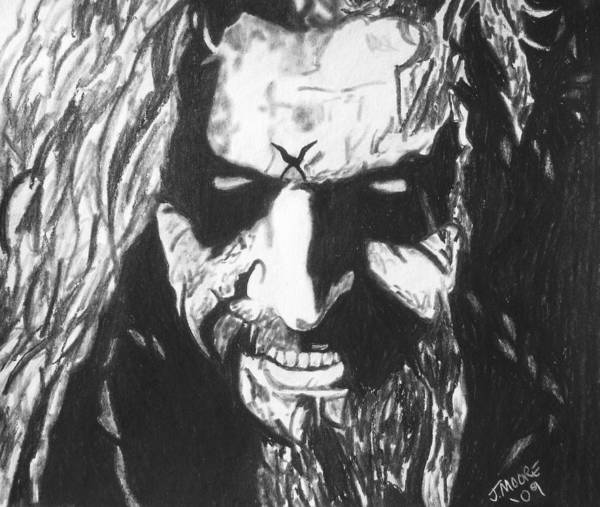 Rob Zombie Music Rock Heavy Metal Celebrity Icon Poster featuring the drawing Rob Zombie by Jeremy Moore