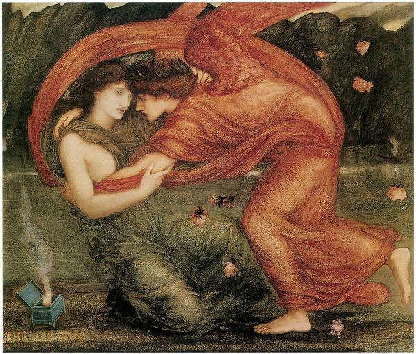 Edward Burne-jones Poster featuring the painting The Lamentation by Edward Burne-Jones