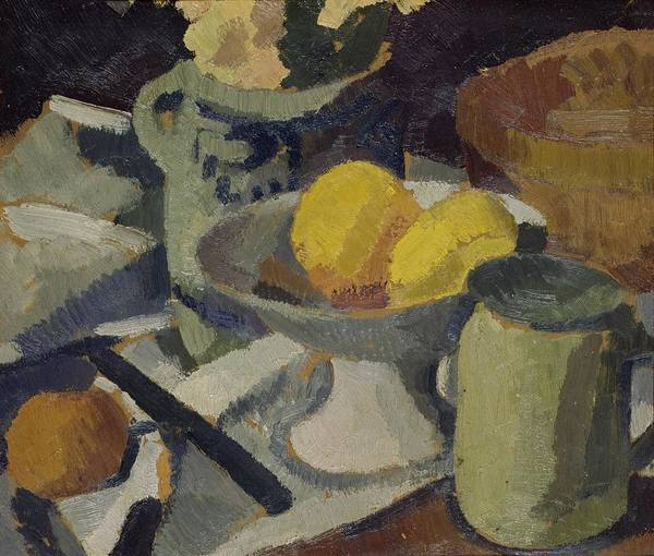 Still Poster featuring the painting Still Life by Roger de La Fresnaye