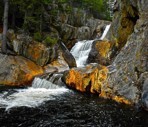 Landscape Poster featuring the photograph Smalls Falls 2 by George Ramos