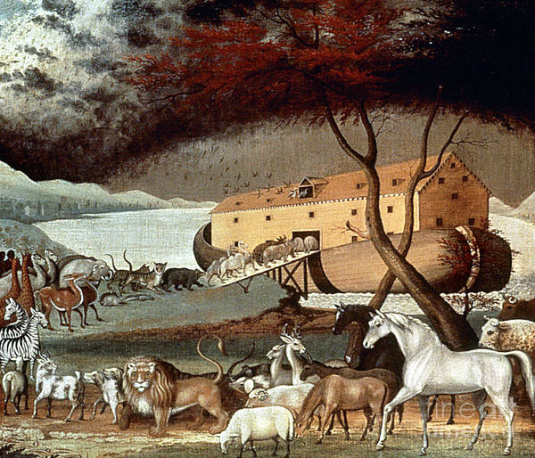 19th Century Poster featuring the photograph Hicks: Noahs Ark, 1846 by Granger