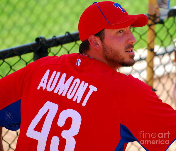 Mlb Poster featuring the photograph Phillipe Aumont by Carol Christopher