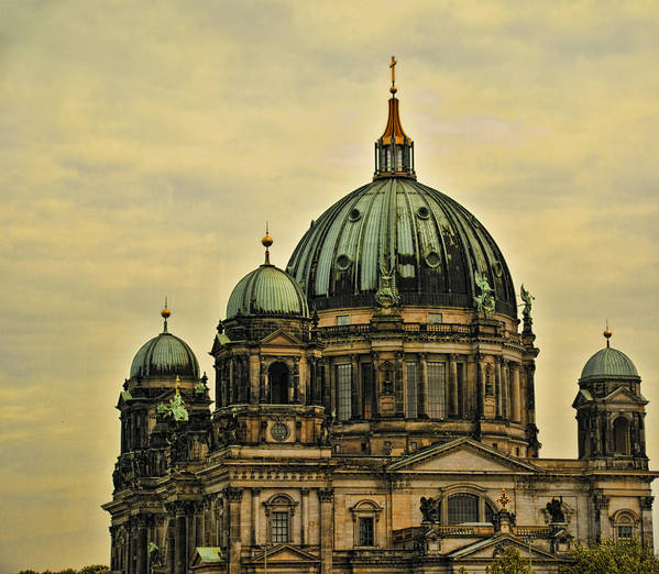 Berlin Poster featuring the photograph Berlin Architecture by Jon Berghoff