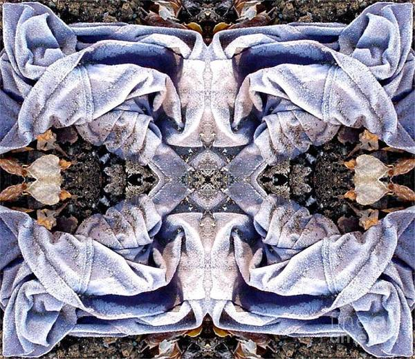 Abstract Poster featuring the digital art Church Clothing by Ron Bissett