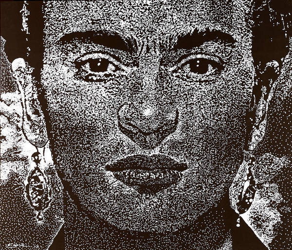 Frida Khalo Poster featuring the painting Frida Khalo by Max Eberle
