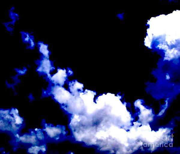 Blue Poster featuring the photograph Le Beau Ciel by Vicki Lynn Sodora