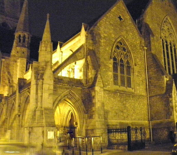 Church Photographs Poster featuring the photograph Church At Night by William Haggart
