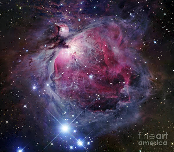 Astronomy Poster featuring the photograph The Orion Nebula by Robert Gendler