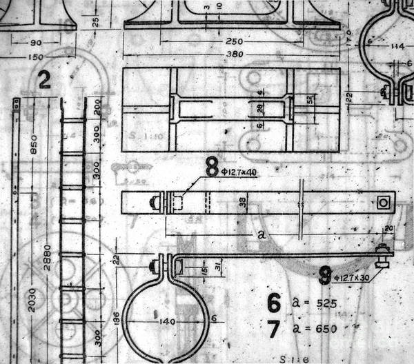Blueprint Poster featuring the photograph Vintage Blueprints by Yali Shi
