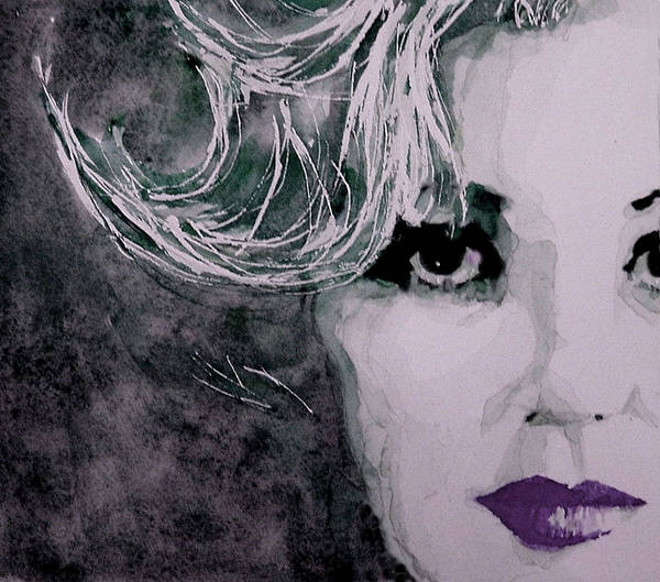 Marilyn Monroe Poster featuring the painting Marilyn No9 by Paul Lovering