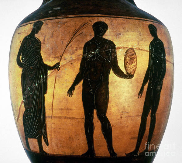 6th Century B.c Poster featuring the photograph Greek Olympian by Granger