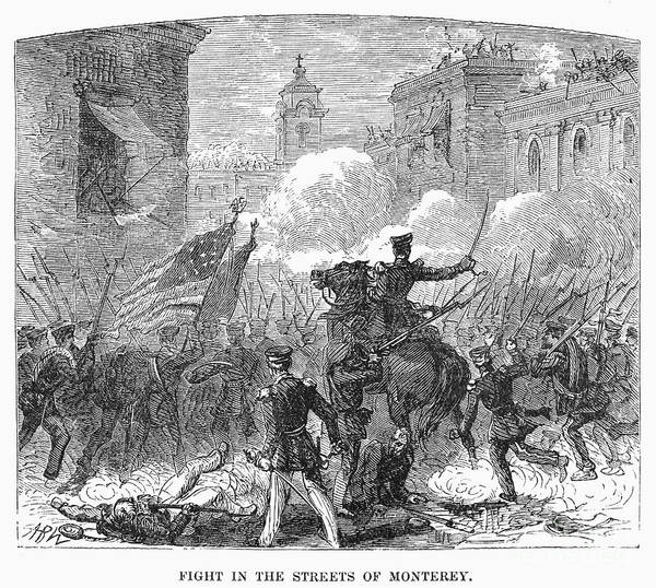 1846 Poster featuring the photograph Mexican War: Monterrey by Granger