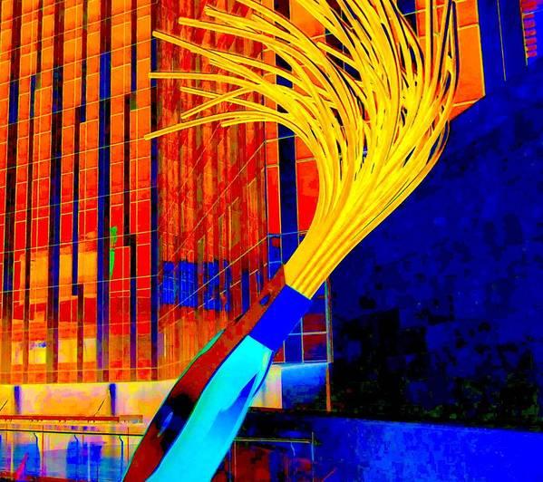 Las Vegas Poster featuring the digital art My Vegas City Center 30 by Randall Weidner