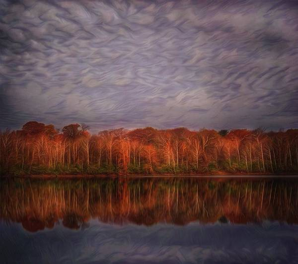 Autumn Poster featuring the photograph Autumn Sky by Michael Ahlrichs