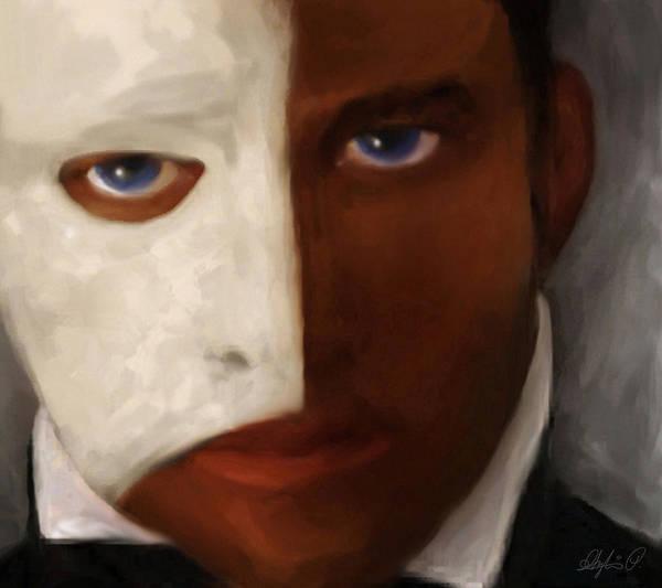 Phantom Poster featuring the painting Phantom by Sylvia Pekarek