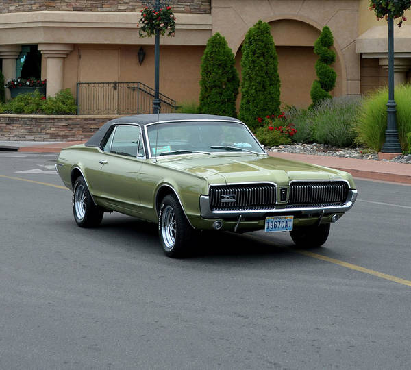 Mercury Cougar Carrillo Poster By Mobile Event Photo Car Show - Car show photography