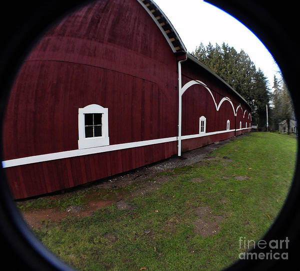 Clay Poster featuring the photograph Huge Barn by Clayton Bruster