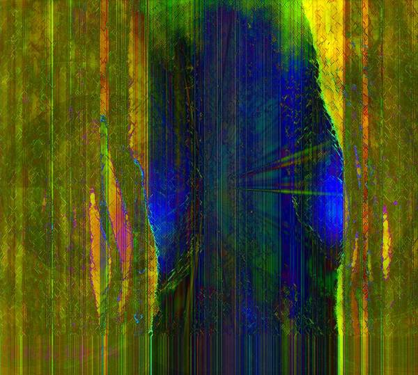 Faniart Poster featuring the digital art Inside View by Fania Simon