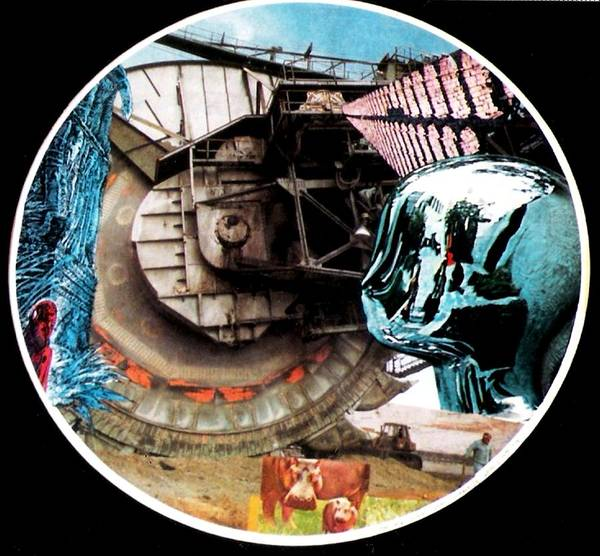 Machinery Poster featuring the photograph 24 Port Hole Collage Series One Number Twenty Four by Gabe Art Inc