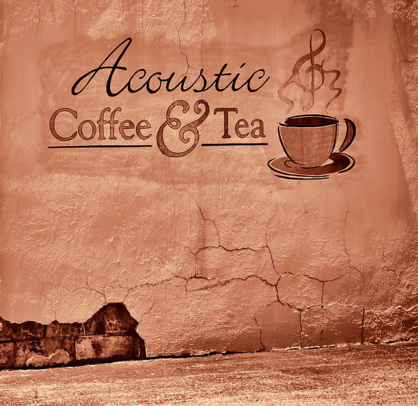 Greg Jackson Poster featuring the photograph Acoustic Coffee And Tea - 1c2b by Greg Jackson