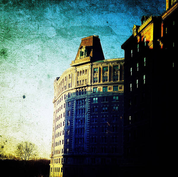 Nyc Poster featuring the photograph Morningside Heights Blue by Natasha Marco