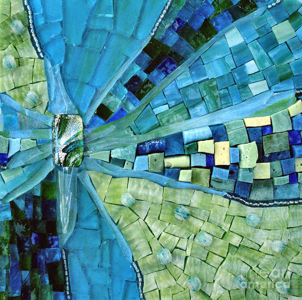 Mosaic Poster featuring the photograph Tranquility by Valerie Fuqua