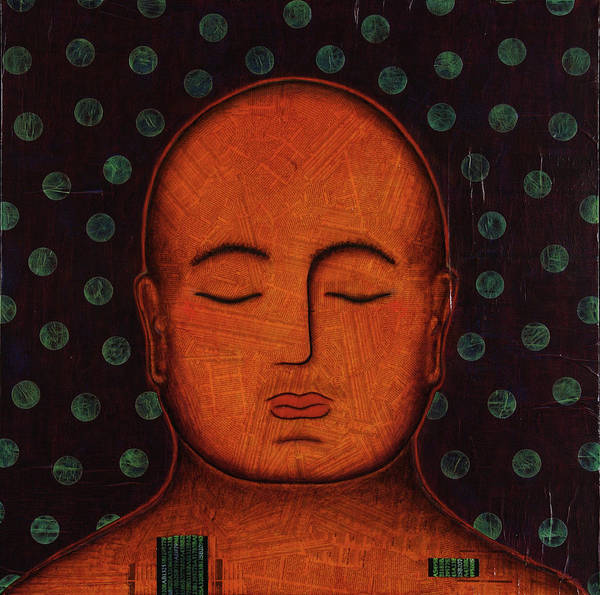 Buddha Poster featuring the painting Inner Visions by Gloria Rothrock