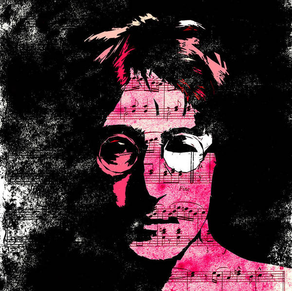 John Lennon Dreamer Not The Only One Beatle Beatles Song Songwriter Dream Poster featuring the digital art You Say I Am A Dreamer by Steve K