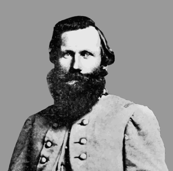 Jeb Stuart Poster featuring the painting J.e.b. Stuart by War Is Hell Store