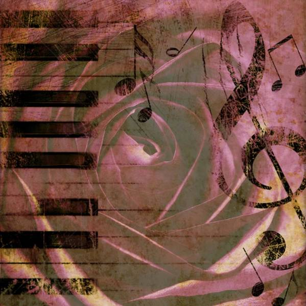 Flowers Poster featuring the photograph Natures Music by Cathie Tyler