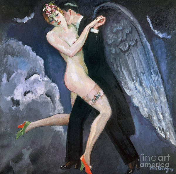 1930 Poster featuring the photograph Van Dongen: Tango, C1930 by Granger