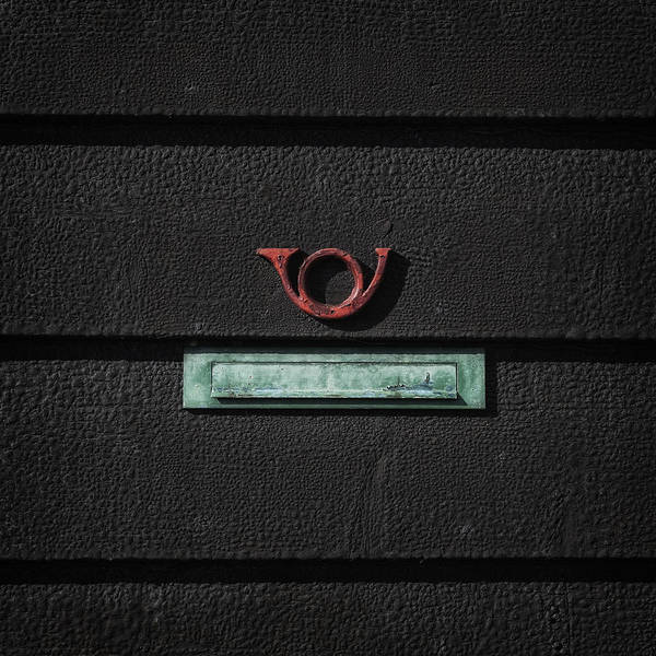 Letter Box Poster featuring the photograph Letter Box by Joana Kruse