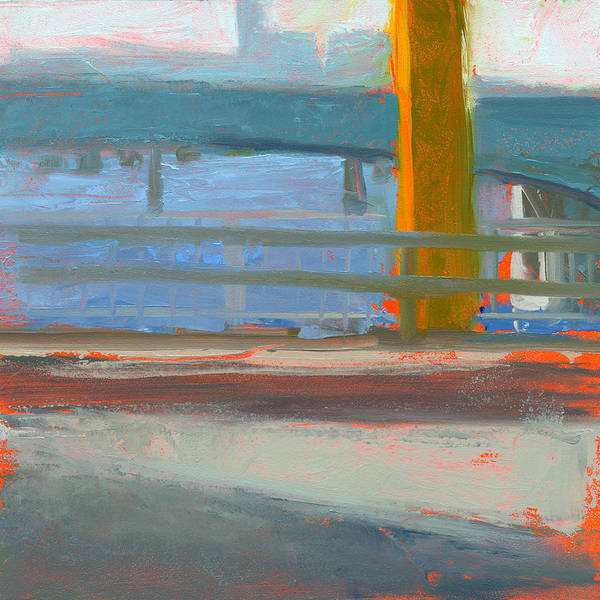 Bridge Poster featuring the painting Rcnpaintings.com by Chris N Rohrbach