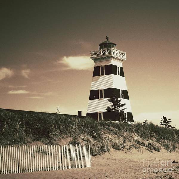 Lighthouse Poster featuring the photograph West Point's Light by Meg Lee Photography