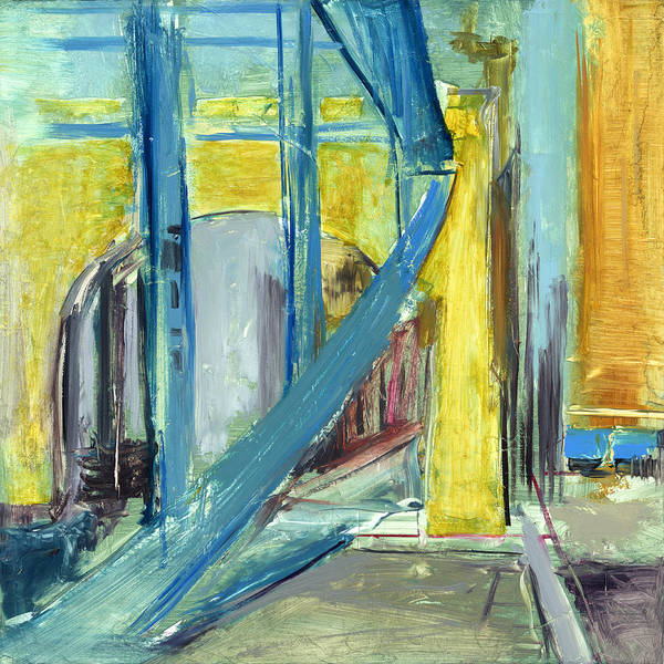 Bridges Poster featuring the painting Rcnpaintings.com by Chris N Rohrbach