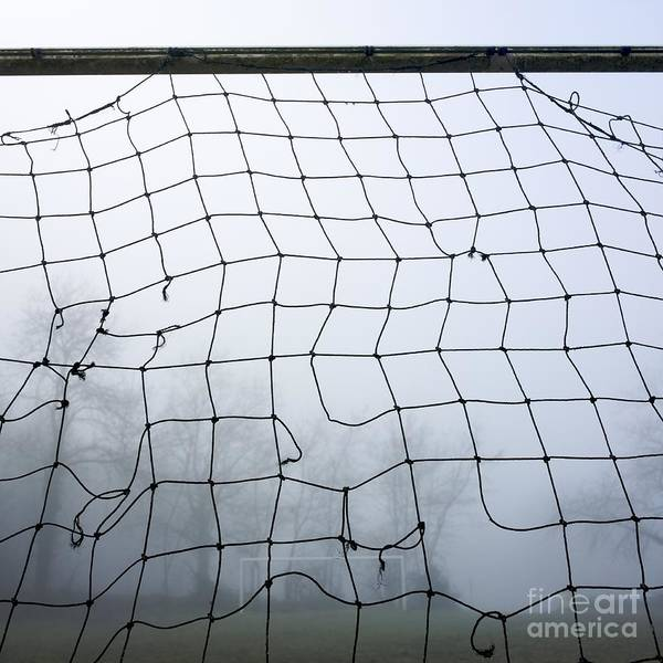 Abandoned Poster featuring the photograph Goal by Bernard Jaubert