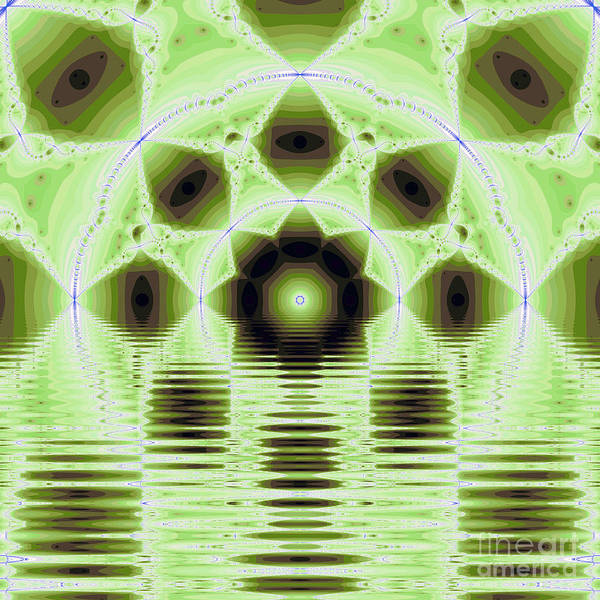 Fracta Poster featuring the digital art Fantasy Fractal by Odon Czintos