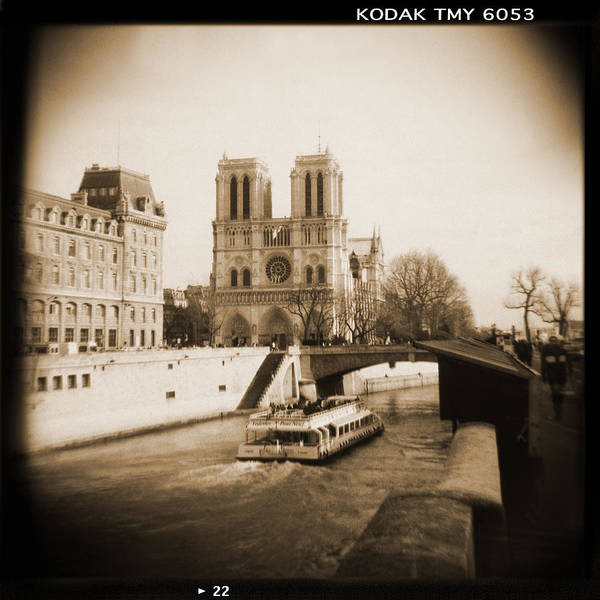 Notre Dame Poster featuring the photograph A Walk Through Paris 22 by Mike McGlothlen