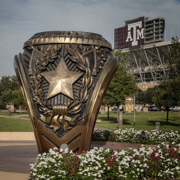 Joan Carroll Poster featuring the photograph Aggie Ring by Joan Carroll