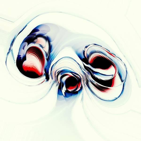 Creature Poster featuring the digital art Alien Puppy by Anastasiya Malakhova