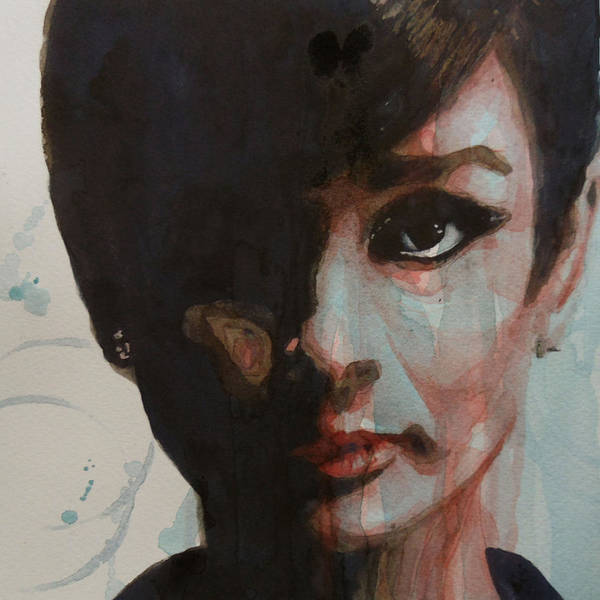 Audrey Hepburn Poster featuring the painting Audrey Hepburn by Paul Lovering