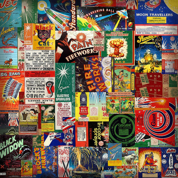 Fireworks Poster featuring the digital art Bang by Russell Pierce