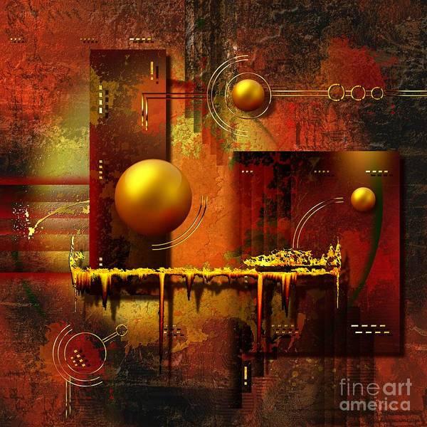 Art Poster featuring the digital art Beauty Of An Illusion by Franziskus Pfleghart
